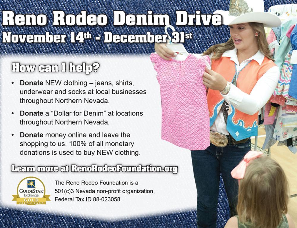 Reno Rodeo Foundation – Denim Drive