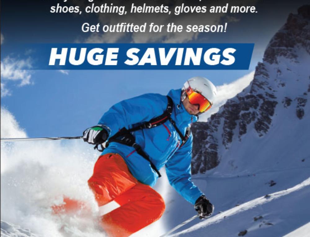 UNR Ski Swap Print Ad 2016