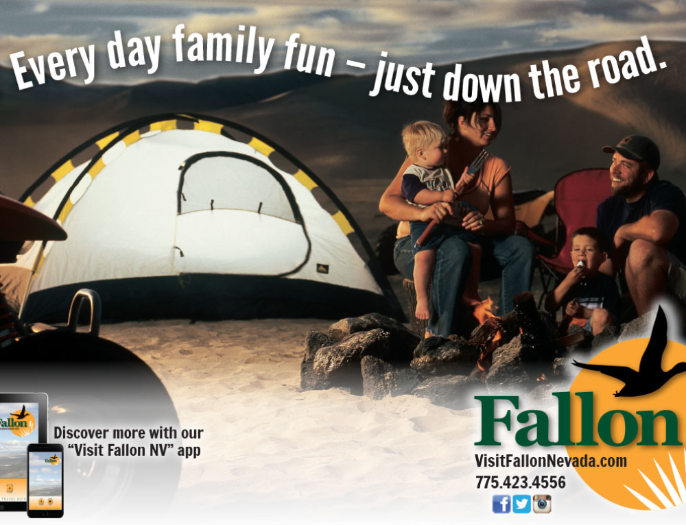Fallon Sand Mountain Ad