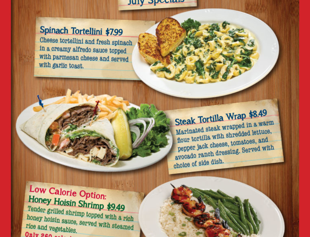 Gilpin Casino Food Specials